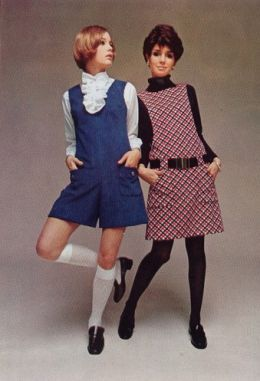 60s Fashion---Tuff Stuff!  I still love the jumper, turtleneck and matching tights look.  Reminds me of something Audrey Hepburn would wear.