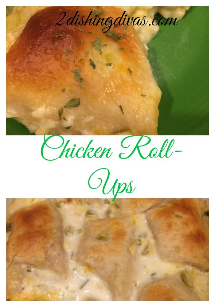 Chicken Roll-ups is a great dish to serve your family when comfort food is at the top of the menu! Delicious and easy to make, these will become family favorites!