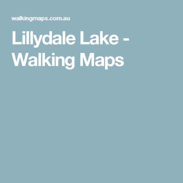 Lillydale Lake - Walking Maps