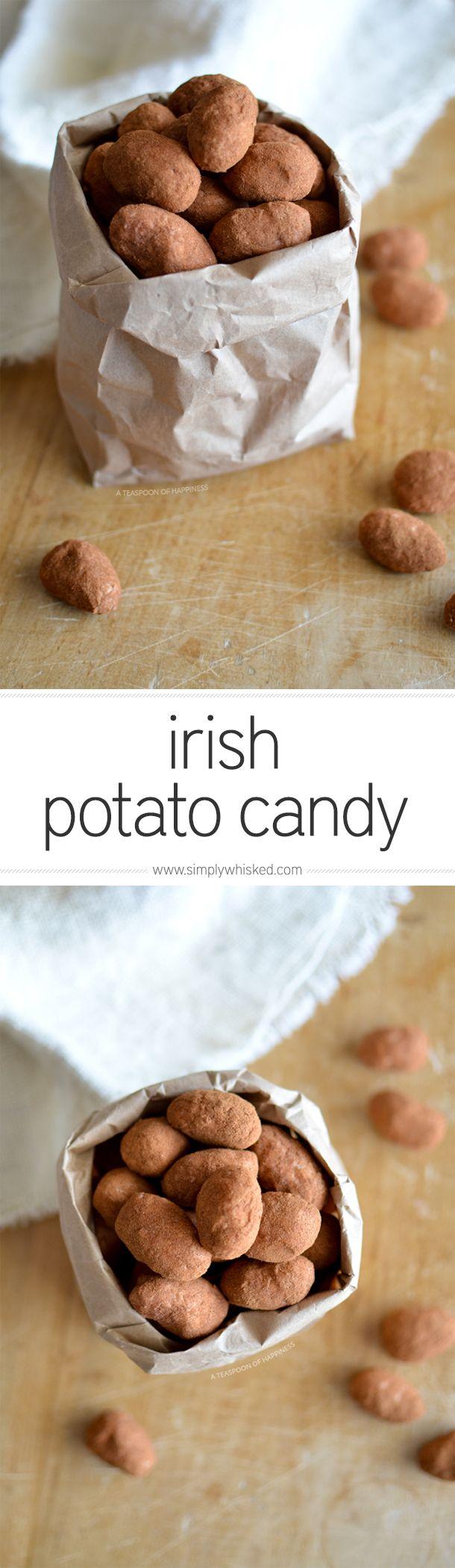 Irish potato candy | simplywhisked.com