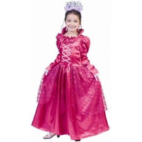 Deguisement Princesse enfant deluxe robe princesse alicia pink