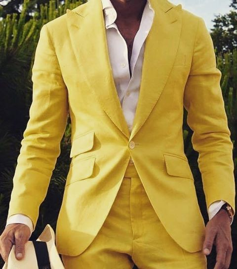Yellow suit | #tslstyle #in #hu @absolutebespoke @tslstyle @dapperschannel…