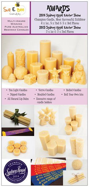 My DL Flyers - front #suzebeecandles, #beeswax, #beeswax candles