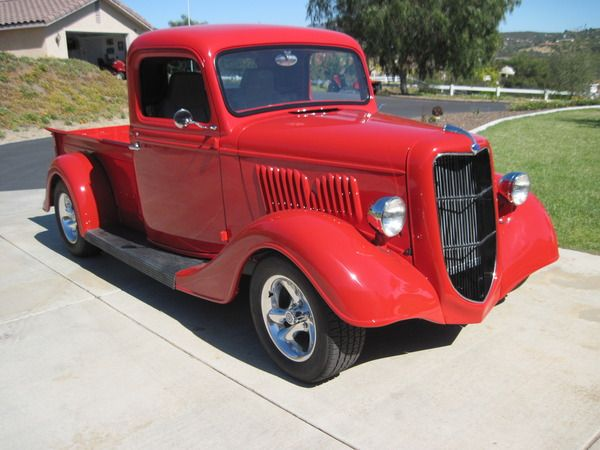 1935 ford truck for sale in valley center ca collector car nation classifieds vehicles. Black Bedroom Furniture Sets. Home Design Ideas