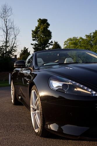 Aston Martin Wedding Car For Kev