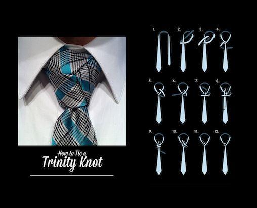 Nœud de cravate ''trinité''