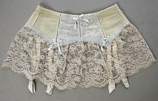 Garter belt House of Dior (French, founded 1947) Designer: Marc Bohan (French, born 1926) Date: 1960s Culture: French Medium: synthetic, nyl...