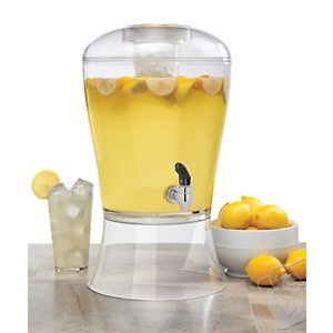 3 Gallon Beverage Dispenser with Ice Core at Wine Enthusiast - $39.95