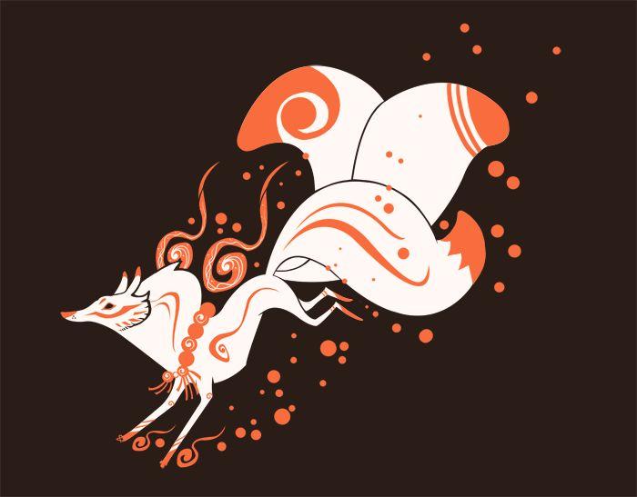 Kitsune   Foxy ... Red Fox Illustration