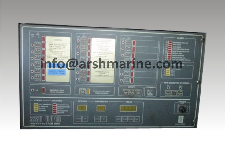Nor Control Safety System Unit SSU 8810