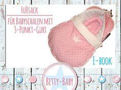 ☆* Designe Deinen eigenen Fußsack für die Babyschale!!! *★    Dies ist ein Schnittmuster zum + Sofortdownload+ für einen Fußsack eines Baby-Autositzes der Gruppe 0 mit 3-Punkt Gurt...