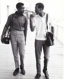 Otis Williams and Eddie Kendricks, original Temptations