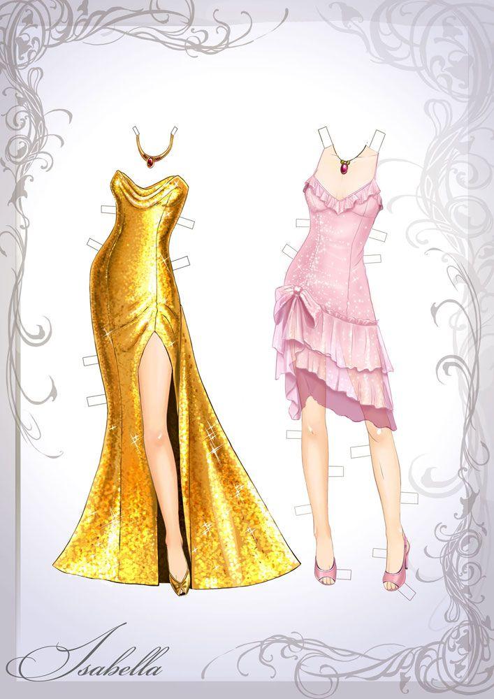 Isabellas dress by Ngaladel.deviantart.com on @deviantART