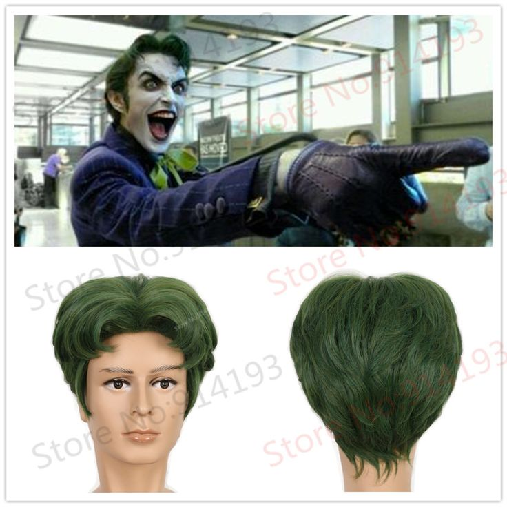$19.99 (Buy here: https://alitems.com/g/1e8d114494ebda23ff8b16525dc3e8/?i=5&ulp=https%3A%2F%2Fwww.aliexpress.com%2Fitem%2FMen-Short-Fluffy-Wavy-Green-joker-wig-Hair-Halloween-Cosplay-Costume-Wig-Suicide-Squad-Batman%2F32731957576.html ) Men Short Fluffy Wavy Green joker wig Hair Halloween Cosplay Costume Wig Suicide Squad Batman for just $19.99