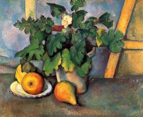 'Still Life' by French artist Paul Cezanne (1839-1906)