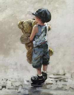 Big Ted by Keith PROCTOR Limited Edition Print