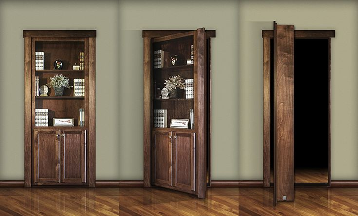 Have you always wanted your own Secret Passage? or Hidden Door system like that bat cave?