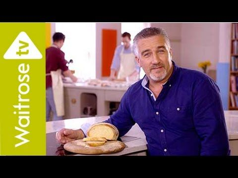 Get Baking with Paul Hollywood - White Bloomer Bread | Waitrose - YouTube