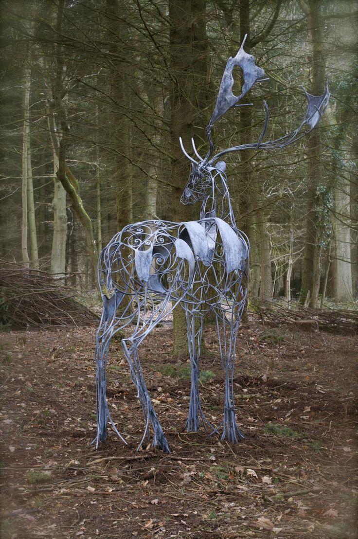 David Freedman - Sculpture and garden art , artistic metal furniture and gates