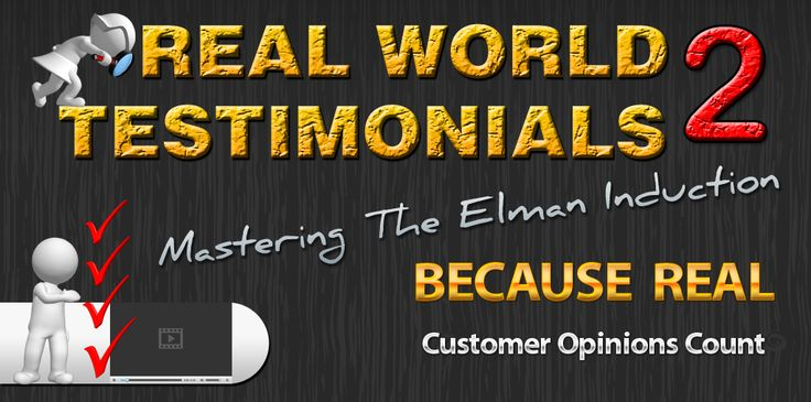 Real World Testimonials From People who have used Mastering The Elman Induction Video and Audio Course. Watch the video at https://www.youtube.com/watch?v=bGZ_mbIHcIs