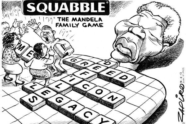 Zapiro: The Mandela family game