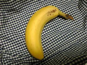 レンジDE完熟(風)バナナ♪