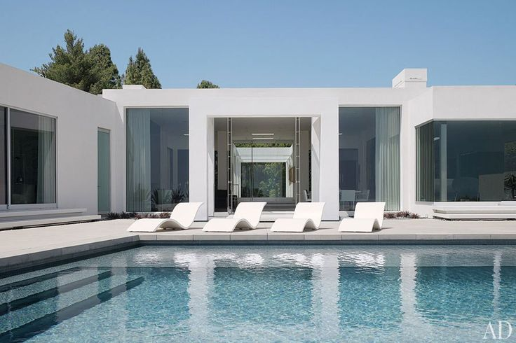 A Minimalist Beverly Hills Home : Interiors + Inspiration : Architectural Digest