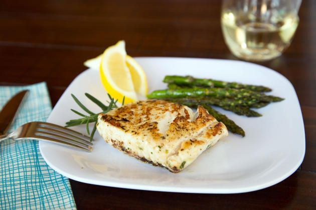 Grilled Halibut Steaks are succulent and easy to prepare. We just love summer!