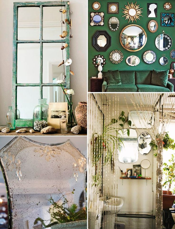 DECO: Mirror Wall | Collage Vintage | Bloglovin'