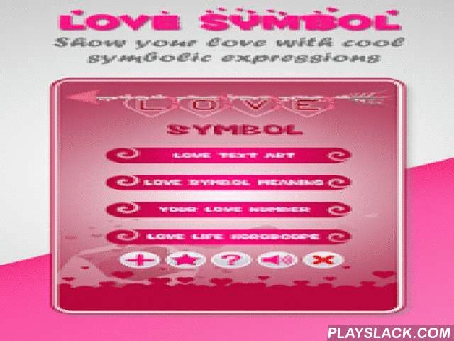Love Symbol - Love Text Art  Android App - playslack.com ,  Love Symbol - Love Text Art is a love app that helps you send coolest and sweetest Love Text Art, Ascii Text, and Emotion Emoji as a surprising gift to your love ones everyday or in special occasions. You can also find love symbols and their meanings, discover your love life horoscope and learn what love number describes your love style.*** Main features in Love Symbol - Love Text Art ***★ Love Text Art: a huge collection of best…