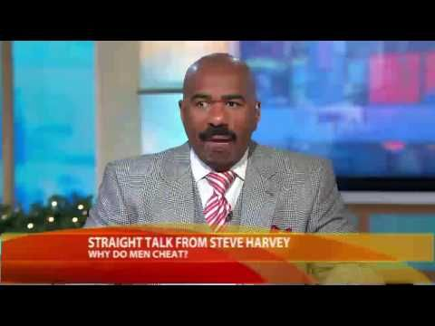 Why Do Men Cheat?  Ladies Let's see what Steve Harvey has to say.. Please leave a comment as to why you think Men Cheat