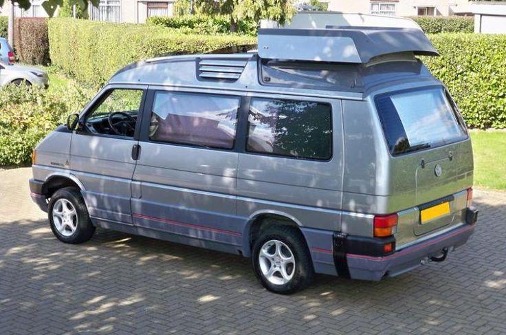 vw camper van dehler exterior side rear 2 camper van. Black Bedroom Furniture Sets. Home Design Ideas