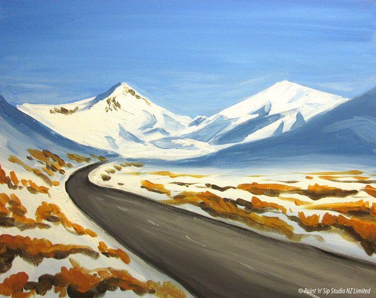 Snowy Lindis Pass