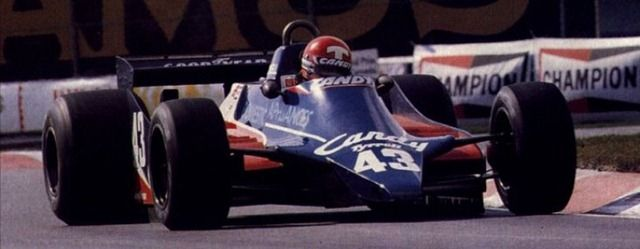 Mike Thackwell, Canadian Grand Prix 1980