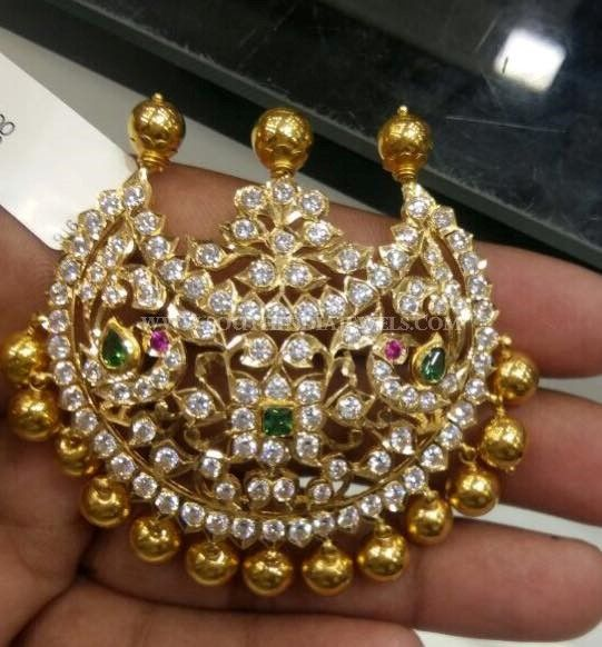 30 Grams Gold Pendant Designs, Latest Gold Pendant Design in 30 Grams.