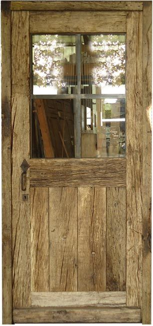 25 best ideas about porte exterieur on pinterest porte for Porte de service bois vitree