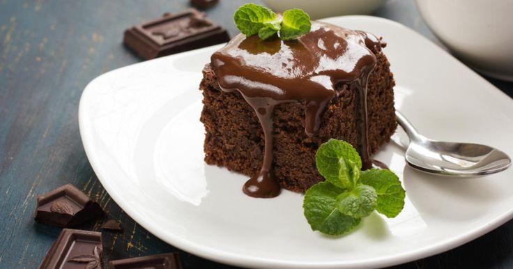 Шоколадно-кофейные пирожные от Бадди Валастро