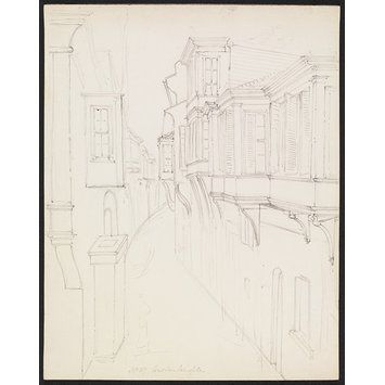 Constantinople (Drawing) Sir George Scharf  1843-44