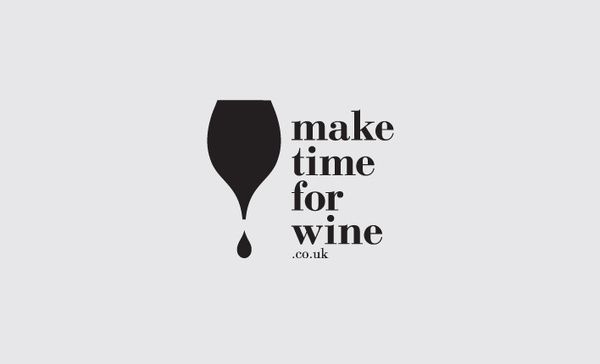 Make Time For Wine logo by Ascend Studio in Logo
