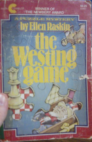 Top 100 Children's Novels #9: The Westing Game by Ellen Raskin — @fuseeight A Fuse #8 Production