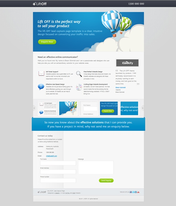 15 best images about landing page examples free for Jquery landing page templates