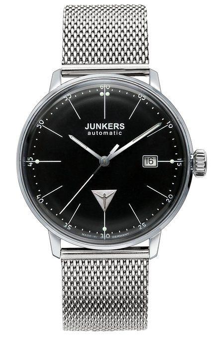 Junkers Herren-Armbanduhr XL Bauhaus Analog Automatik Edelstahl 6050M2: Amazon.de: Uhren
