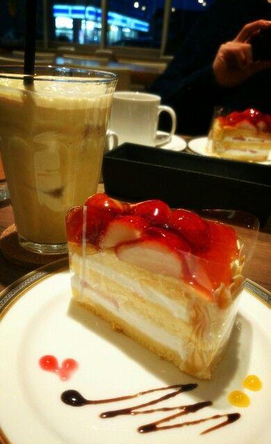 ケーキ&ミックスジュース♡
