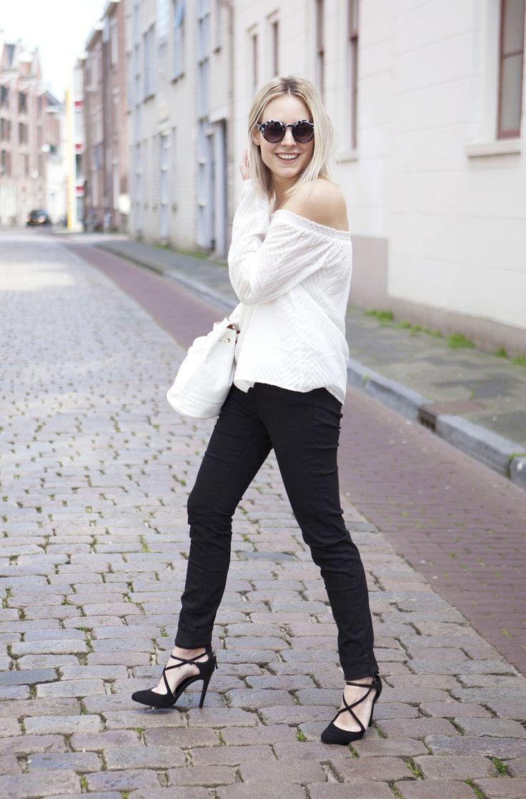 Black White Fashion Hoax Apparel Pinterest