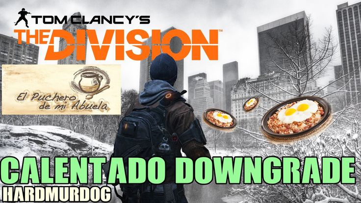 EL PUCHERO DE MI ABUELA - BETA THE DIVISION ESPAÑOL - PS4 -XBOX ONE - PC