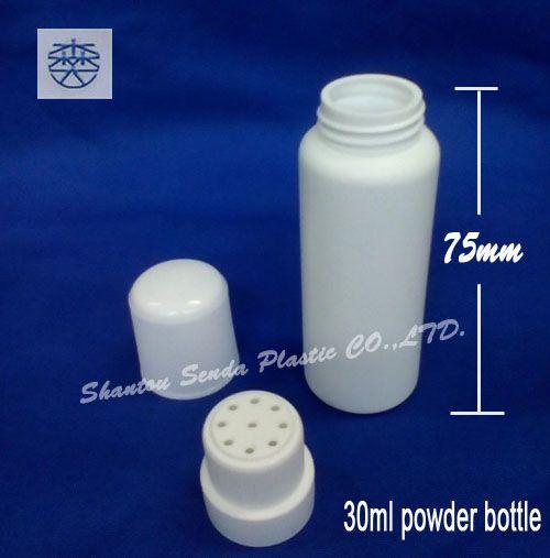 Günstige 20 TEILE/LOS FREIES VERSCHIFFEN 30 ml baby pulver kunststoff flasche, Talkumpuder container, Kaufe Qualität Nachfüllbar Flaschen direkt vom China-Lieferanten:                    30 ml Baby Pulver Kunststoff flasche, Talkumpuder Container                                      20 t