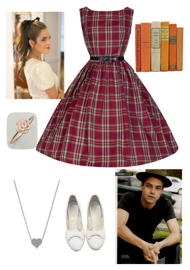 """""""1950's Greasers Girl"""" by koolkake ❤ liked on Polyvore featuring Retrò and Julieri"""