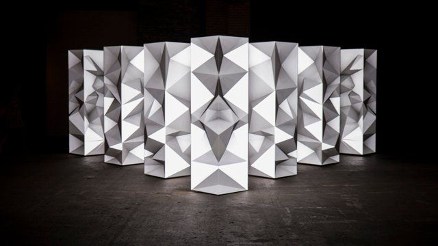 3D Mapping Amazing Installation! Digital art, Videoart!