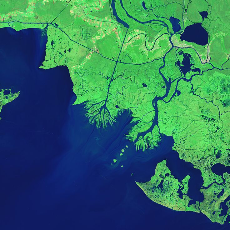 Bringing back the bayou NASA helps Louisiana