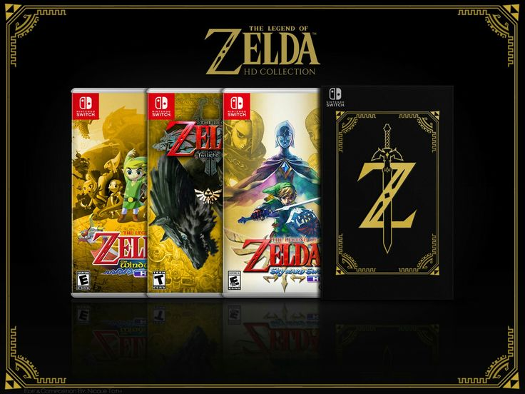 Zelda HD collection for Nintendo Switch